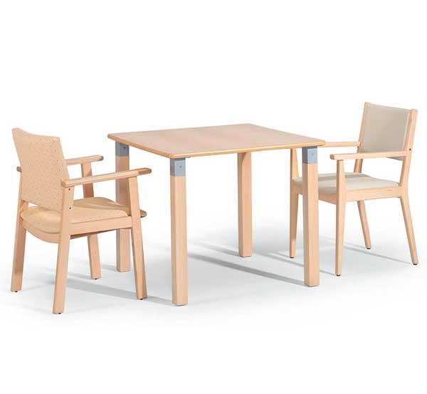 Conjunto mobiliario geriátrico