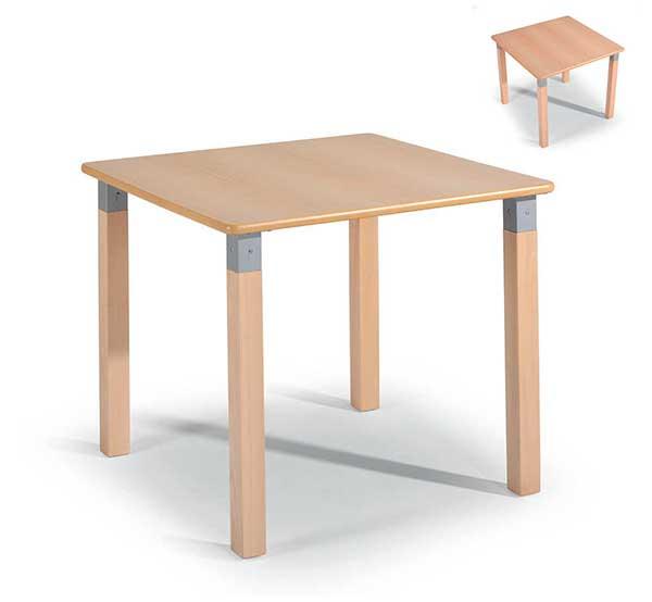 Mesa mobiliario geriátrico