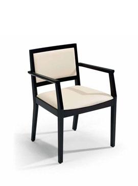 Boston, upholstered armchair