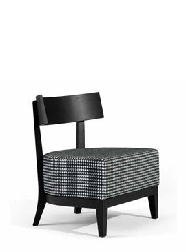 Oslo, upholstered seat