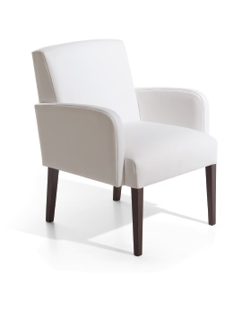 Royal, upholstered armchair