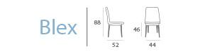 Blex, medidas