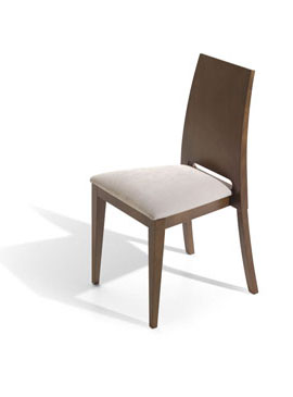 silla tapizada Enna Apilable 2