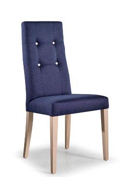 Praga capitoné, sillas tapizadas