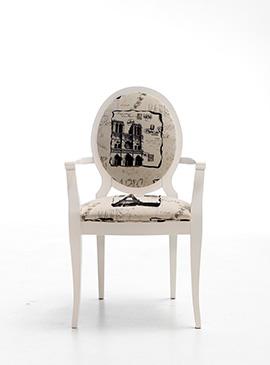 V-Koral sillón tapizado